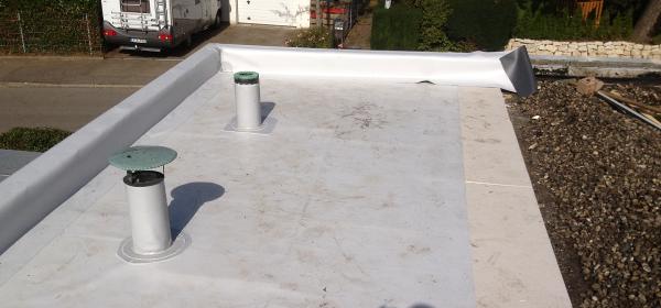 Beispiel einer Flachdach Sanierung